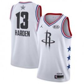 Camiseta James Harden #13 Houston Rockets 2019 All Star Blanco