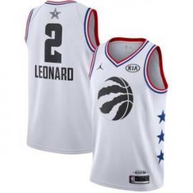 Camiseta Kawhi Leonard #2 Toronto Raptors 2019 All Star Blanco