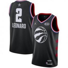 Camiseta Kawhi Leonard #2 Toronto Raptors 2019 All Star Negro