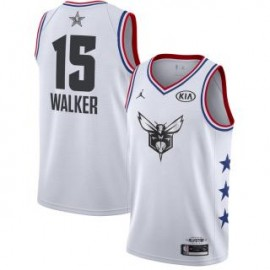 Camiseta Kemba Walker #15 Charlotte Hornets 2019 All Star Blanco