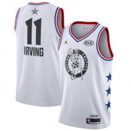 Camiseta Kyrie Irving #11 Boston Celtics 2019 All Star Blanco