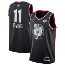 Camiseta Kyrie Irving #11 Boston Celtics 2019 All Star Negro