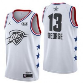 Camiseta Paul George #13 Oklahoma City Thunder 2019 All Star Blanco