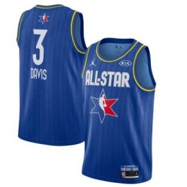 Camiseta Anthony Davis #3 All Star 2020 Azul