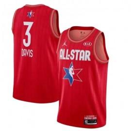 Camiseta Anthony Davis #3 All Star 2020 Rojo