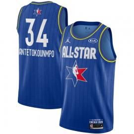 Camiseta Giannis Antetokounmpo #34 All Star 2020 Azul