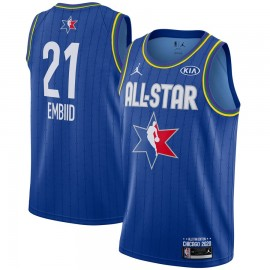 Camiseta Joel Embiid #21 All Star 2020 Azul