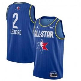 Camiseta Kawhi Leonard #2 All Star 2020 Azul