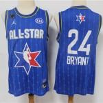 Camiseta Kobe Bryant #24 All Star 2020 Azul