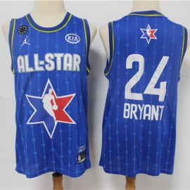Camiseta Kobe Bryant #24 All Star 2020 Azul