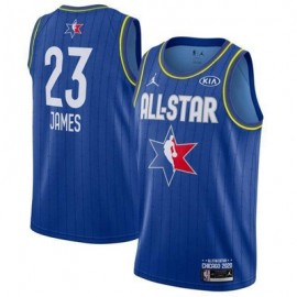 Camiseta LeBron James #23 All Star 2020 Azul