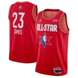 Camiseta LeBron James #23 All Star 2020 Rojo