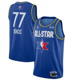 Camiseta Luka Doncic #77 All Star 2020 Azul
