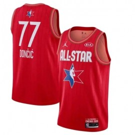 Camiseta Luka Doncic #77 All Star 2020 Rojo