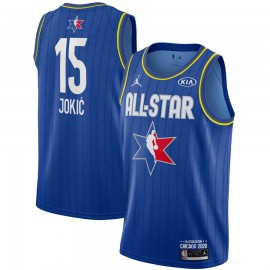 Camiseta Nikola Jokić #15 All Star 2020 Azul