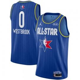 Camiseta Russell Westbrook #0 All Star 2020 Azul