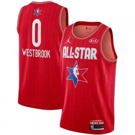 Camiseta Russell Westbrook #0 All Star 2020 Rojo
