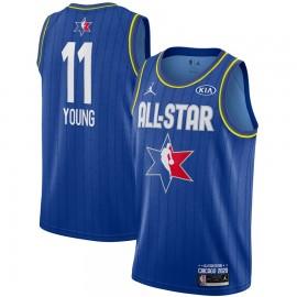 Camiseta Trae Young #11 All Star 2020 Azul