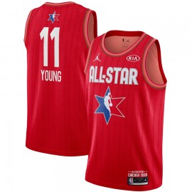 Camiseta Trae Young #11 All Star 2020 Rojo