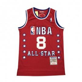 Camiseta Kobe Bryant #8 2003 All Star Rojo