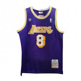 Camiseta Kobe Bryant #8 1998 All Star Púrpura Honor Edition