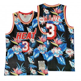 Camiseta Dwyane Wade #3 Miami Heat 2019 Estampado Edition