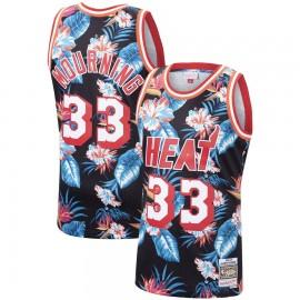 Camiseta Alonzo Mourning #33 Miami Heat 2019 Estampado Edition