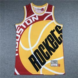 Camiseta James Harden #13 Houston Rockets 2020 Rojo Estampado Edition