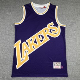 Camiseta LeBron James #23 Los Angeles Lakers 2020 Púrpura Mithchell & Ness