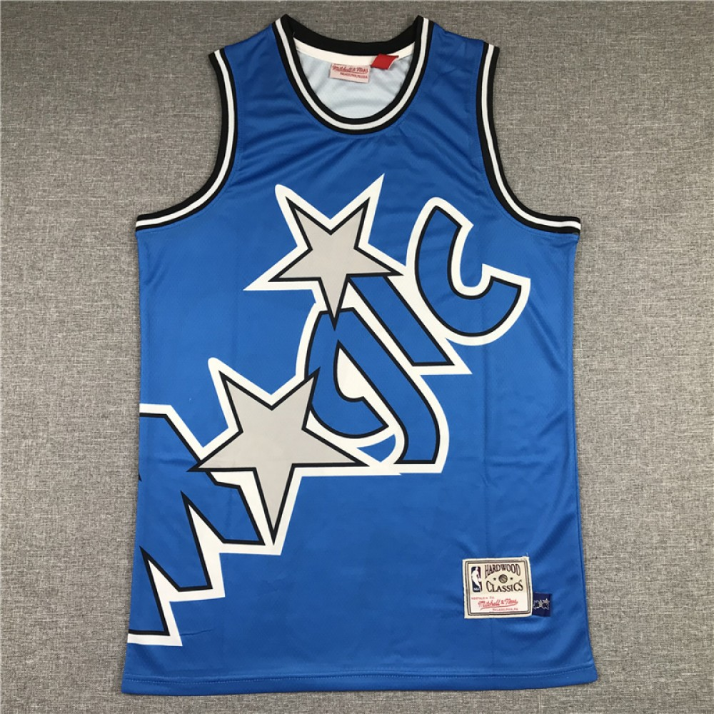 Camiseta Shaquille O'Neal #32 Orlando Magic 2020 Azul Mitchell & Ness
