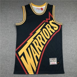 Camiseta Stephen Curry #30 Golden State Warriors 2020 Negro Mitchell & Ness