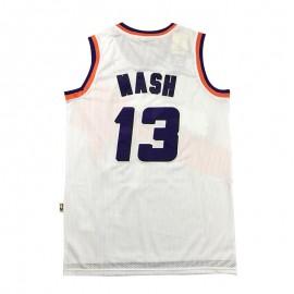 Camiseta Steve Nash #13 Phoenix Suns 2020 Blanco Estampado Edition