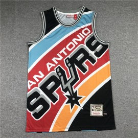 Camiseta Tim Duncan #21 San Antonio Spurs 2020 Multicolor Estampado Edition