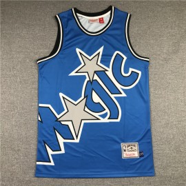 Camiseta Tracy McGrady #1 Orlando Magic 2020 Azul Mitchell & Ness