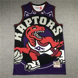 Camiseta Tracy McGrady #1 Toronto Raptors 2020 Púrpura Estampado Edition