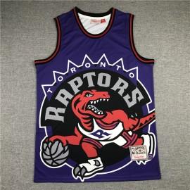 Camiseta Vince Carter #15 Toronto Raptors 2020 Púrpura Mitchell & Ness