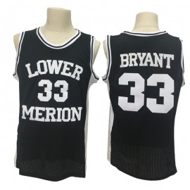 Camiseta Kobe Bryant #33 Lower Merion High School Ncaa Negro