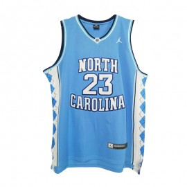 Camiseta Michael Jordan #23 North Carolina Ncaa Azul