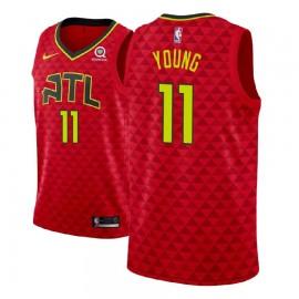 Camiseta Trae Young #11 Atlanta Hawks 18/19 Rojo