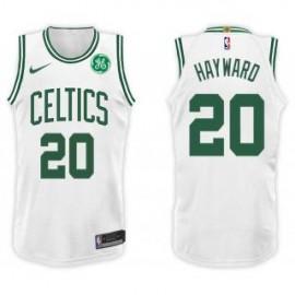 Camiseta Gordon Hayward #20 Boston Celtics 17/18 Blanco