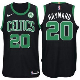 Camiseta Gordon Hayward #20 Boston Celtics 17/18 Negro
