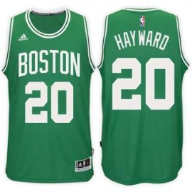 Camiseta Gordon Hayward #20 Boston Celtics 17/18 Verde