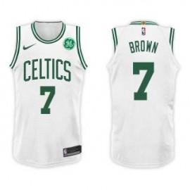 Camiseta Jaylen Brown #7 Boston Celtics 17/18 Blanco