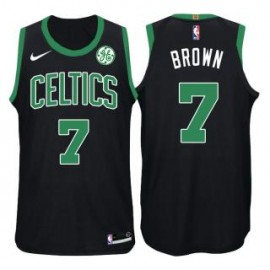 Camiseta Jaylen Brown #7 Boston Celtics 17/18 Negro