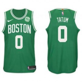 Camiseta Jayson Tatum #0 Boston Celtics 17/18 Verde