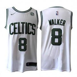 Camiseta Kemba Walker #8 Boston Celtics 17/18 Blanco Association Edition