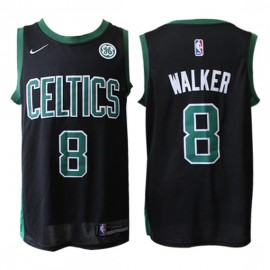Camiseta Kemba Walker #8 Boston Celtics 17/18 Negro Statement Edition