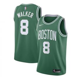 Camiseta Kemba Walker #8 Boston Celtics 17/18 Verde Icon Edition