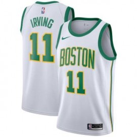 Camiseta Kyrie Irving #11 Boston Celtics 18/19 Blanco City Edition