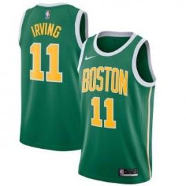 Camiseta Kyrie Irving #11 Boston Celtics 18/19 Verde Earned Edition